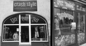 Zum Verwechseln ähnlich: Das Crash Style in Eilenburg und das Crash'n'Fight in Halle.